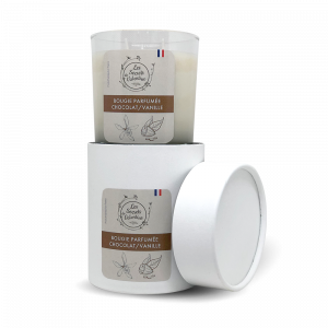 Bougie parfumée chocolat / vanille
