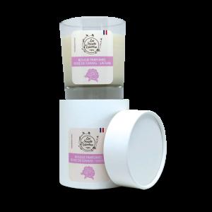 Bougie parfumée rose de damas / safran