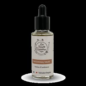 Concentré de parfum Patchouli Musc 15 ml