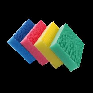 Lot 4 éponges Color Clean